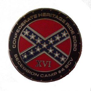 2020 SCV4 Heritage Ride Lapel Pin